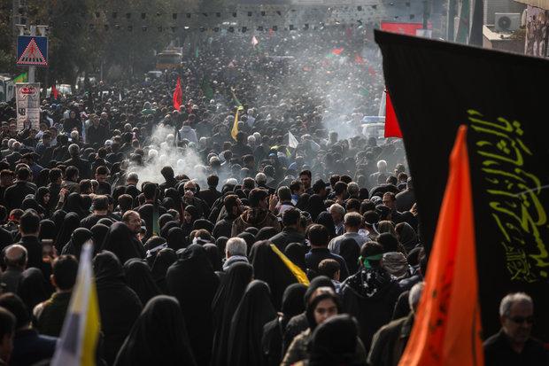 پیاده روی جاماندگان اربعین در امامزادگان کرمان برگزار می شود
