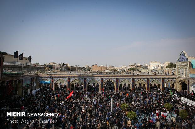 Arbaeen rituals observed in Abd al-Aziz al-Hasani shrine