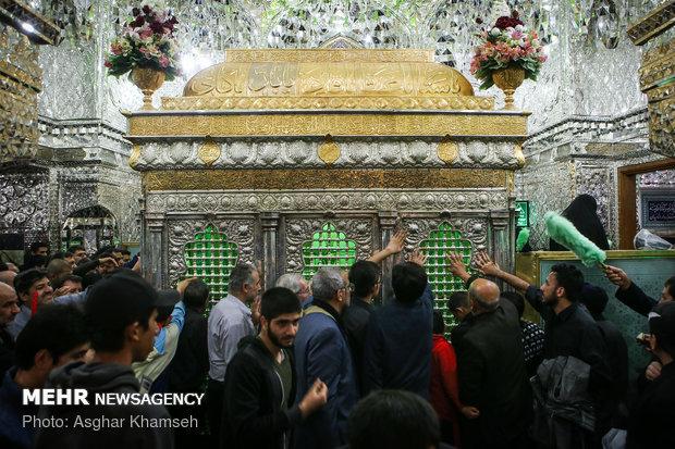 """الأربعين الحسيني في مرقد """"عبد العظيم حسني ع""""بطهران"""
