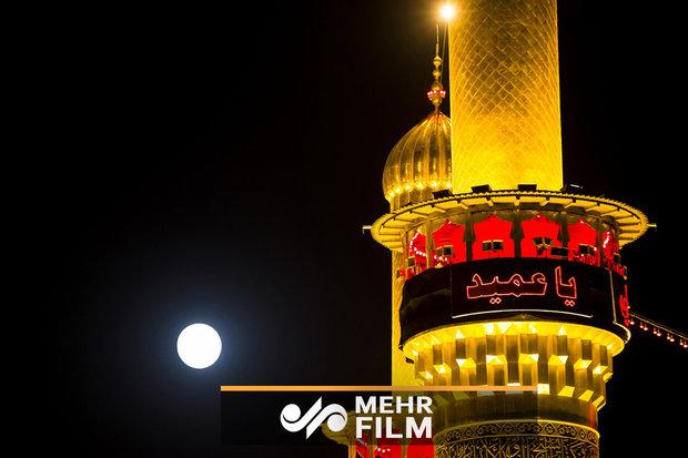 فلم/ پاکستانی زائرین کی اربعین کے دن حضرت عباس کے حرم میں  عزاداری
