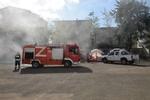 مناورات السلامة عند الغارات الجوية في مدينة آستارا / صور