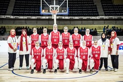 Iranian girls outplay Guam at FIBA U18 Asian C'ship