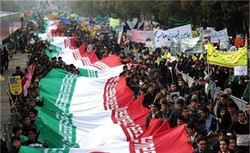 دعوت اقشار بسیج برای حضور گسترده مردم در راهپیمایی ۱۳ آبان