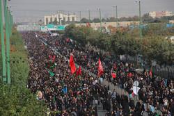 مراسم پیاده روی جاماندگان اربعین حسینی(ع) برگزار می شود