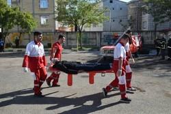 مانور سراسری ایمنی و زلزله در ۱۱۰۰مدرسه استان سمنان برگزار شد