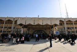 افزایش تردد مسافران ایرانی و اتباع خارجی از پایانه مرزی شلمچه