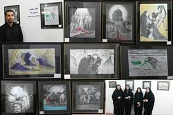 نمایشگاه نقاشی «سایه روشن» در دوراهک برگزار شد