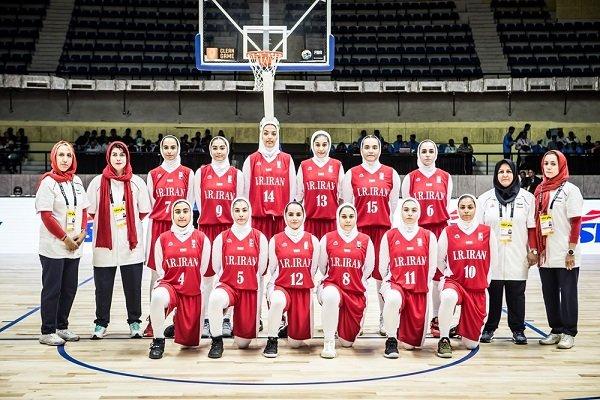 Iranian girls outplay Guam at FIBA U18 Asian C'ship