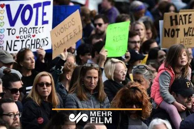 ABD'de Trump'a karşı büyük gösteri