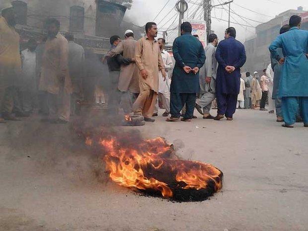 پاکستان کے مخلتف شہروں میں احتجاج جاری