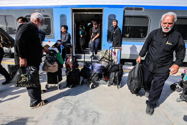 دیروز یک رام قطار فوق العاده به مسیر کرمانشاه اضافه شد