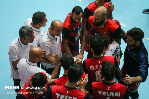 İran, FIVB Dünya Kulüpler Şampiyonası'nda