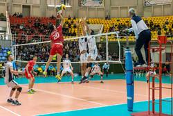 پیروزی تیم والیبال پیام مشهد مقابل شهروند اراک