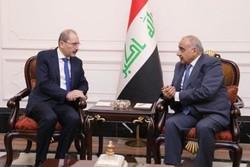 وزير الخارجية الأردني من بغداد: نسعى إلى خفض التصعيد في المنطقة
