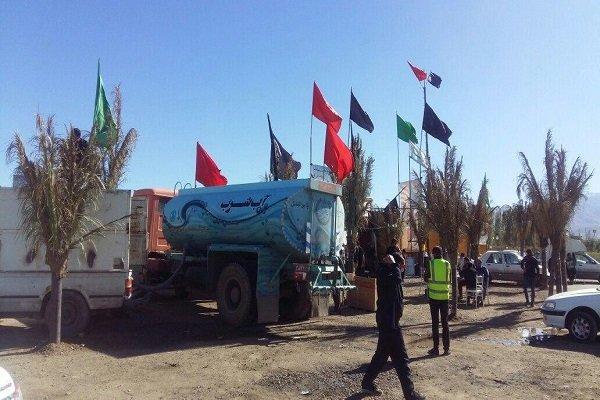تانکرهای آبرسانی از چذابه به کشور عراق اعزام شد
