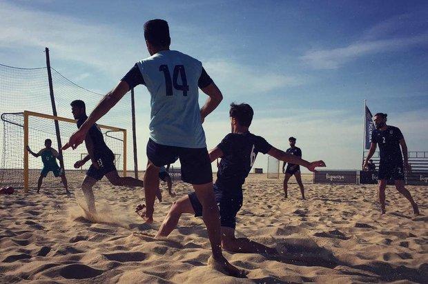 Iran down the U.S. at Beach Soccer Intercontinental Cup