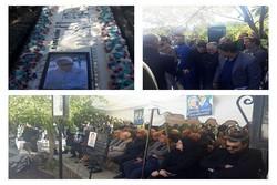 حضور سرمربی و بازیکنان استقلال در مراسم سالگرد پورحیدری