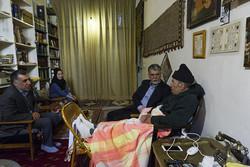وزیر ارشاد به عیادت نویسنده پیشکسوت بلوچ رفت