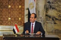 فرانس کے وزیر دفاع کی مصری صدر سے ملاقات
