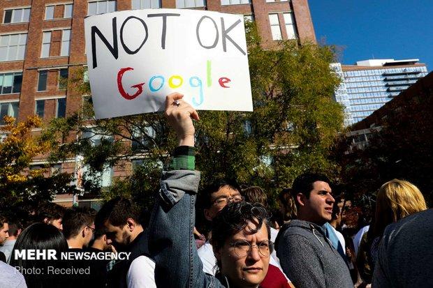 اعتراض کارکنان گوگل به آزار زنان