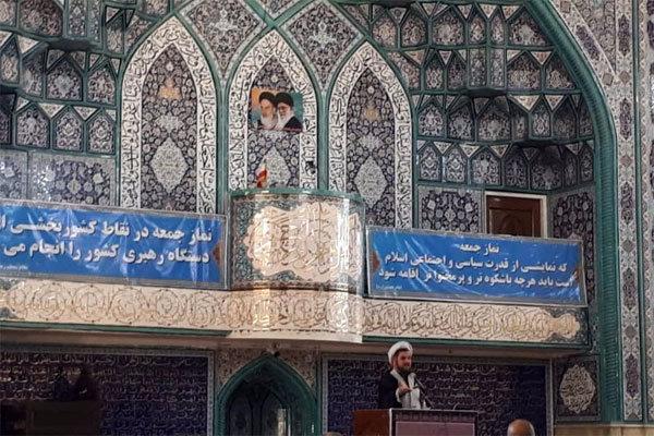 استکبار و دشمنان نظام اسلامی به دنبال مایوس کردن مردم هستند