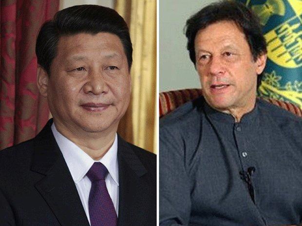 پاکستانی وزير اعظم کی چین کے صدر سے ملاقات