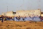 43 مصابا بمسيرات العودة في الجمعة ال43