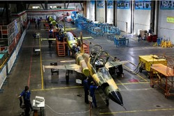 Mass-production of locally-designed Kosar fighter jet