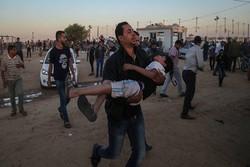 لحظه به لحظه با تظاهرات بازگشت/ زخمی شدن ۸ فلسطینی