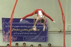المپیاد استعدادهای برتر ورزش کشور در رشته ژیمناستیک در سنندج آغاز شد