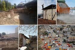 خانههای نیمهکاره روی دست مردم/آوارگی مستاجران از دیار زلزلهزده