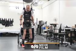 نخستین تجربه بیماران قطع نخاعی از راه رفتن