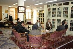 رییس سازمان فرهنگی هنری از کتابخانه علامه جعفری بازدید کرد