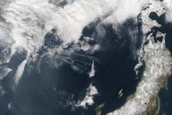 جزیره مرزی میان ژاپن و روسیه ناپدید شده است