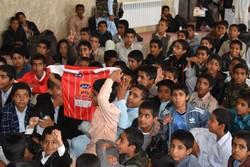 تماشای فینال لیگ قهرمانان آسیا  در مدارس شهرستان مهرستان