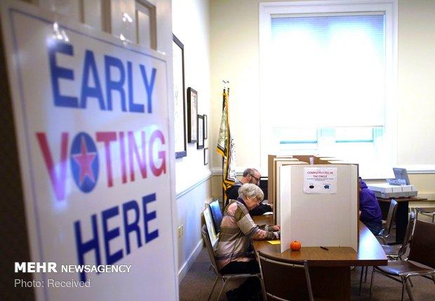 رای گیری پیش از موعد در ایالت های آمریکا