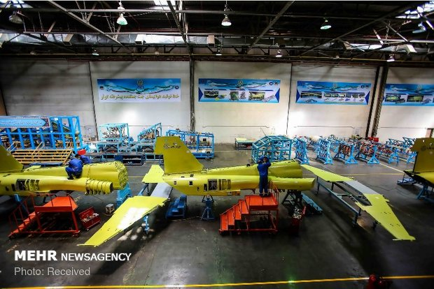 Mass-production of locally-designed Kowsar fighter jet