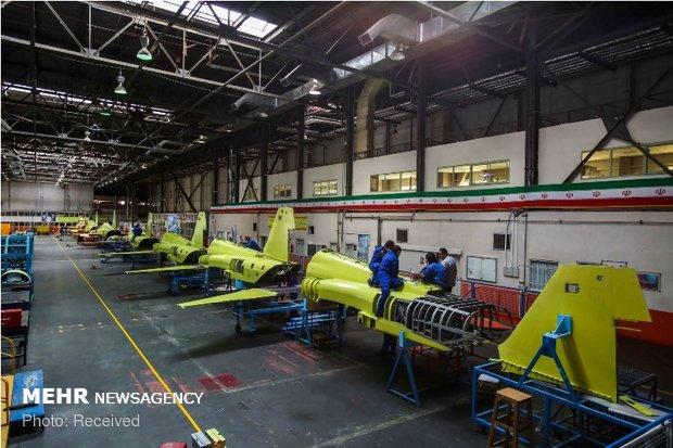 İran yapımı savaş uçağı Kovsar