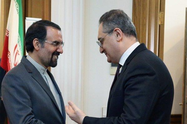 السفير الايراني يلتقي نائب وزير الخارجية الروسي