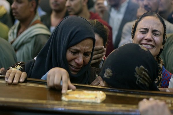 Iran slams terror attack on a bus carrying Christian Egyptians