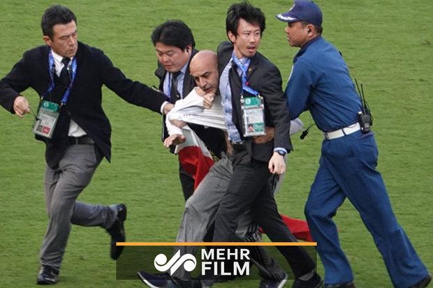 ورود جیمی جامپ با پرچم جعلی در فینال جام باشگاههای آسیا