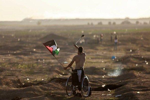استشهاد فلسطيني خلال توجه المتظاهرين إلى حدود غزة للمشاركة في مليونية العودة