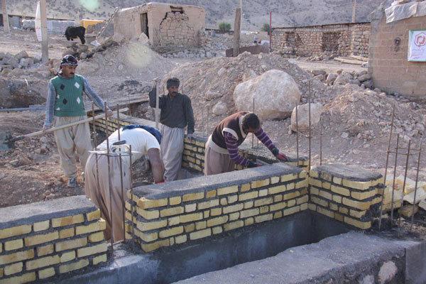 پایان بازسازی مناطق زلزله زده در سه ماهه نخست ۹۸