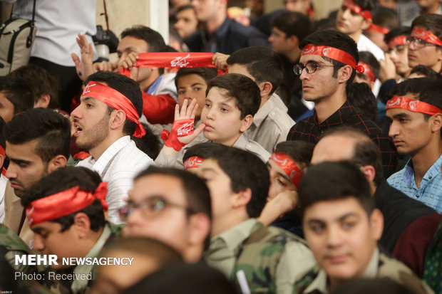 Sat. meeting of Iran's Leader with students