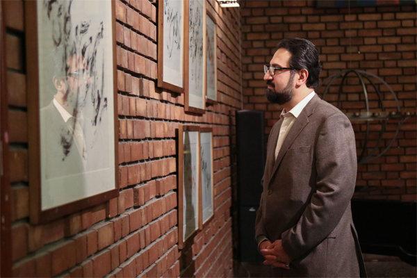حضور معاون هنری وزیر ارشاد در افتتاحیه ۳ نمایشگاه