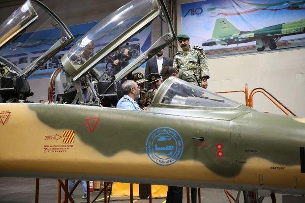 فلم/ ایران کے تیار کردہ جنگی طیارے کوثر کی پرواز