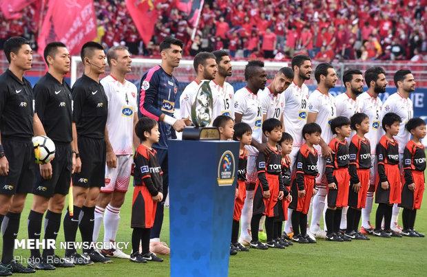 دیدار تیم های فوتبال کاشیما و پرسپولیس