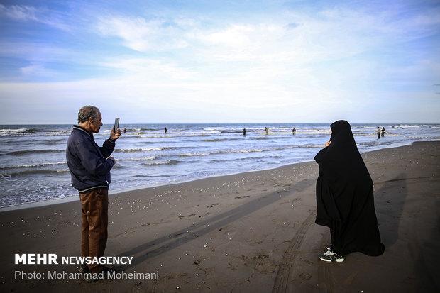 Fishing season in Caspian Sea