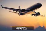 فیلمی از لحظه فرود هواپیما کیش - تهران بدون چرخ در مهرآباد