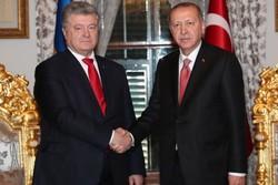 رؤسایجمهوری ترکیه و اوکراین دیدار کردند